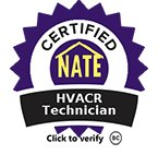 Certified HVACR technician